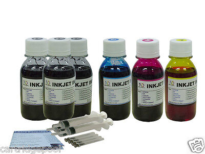 £20.17 • Buy Refill Ink Kit For Canon PG-40 CL-41 MX300 MX310 Ip1600 Ip1700 Ip1800 6x4oz/S