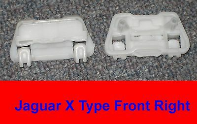 $6.99 • Buy Jaguar X-Type - Window Regulator Clips (2) Set - Front Right (Pair Of Clips)