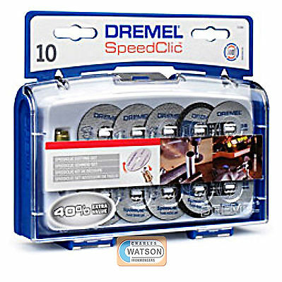 Dremel SC690 SpeedClic Cut Off Wheel Set - Multi Power Tool Accessories • 23.86£