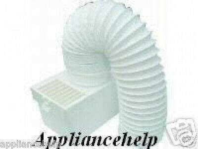 £7.40 • Buy Fits HOTPOINT CREDA Tumble Dryer CONDENSER VENT KIT BOX With Hose