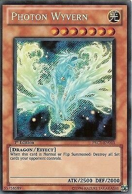£0.99 • Buy YU-GI-OH: PHOTON WYVERN - SECRET RARE - PRC1-EN015 - 1st EDITION