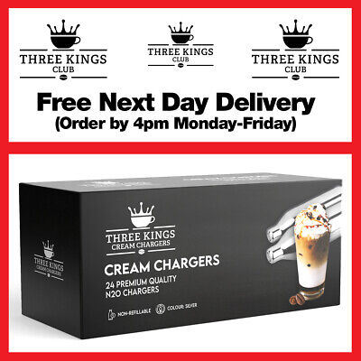 Cream Chargers Mr Whip Canisters + Mosa Whippers Option - Free Delivery • 14.95£