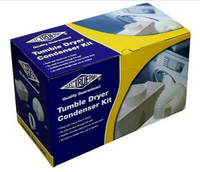 £14.99 • Buy Universal Tumble Dryer Condenser Vent Kit Box & Hose Fits All Makes Of Machine