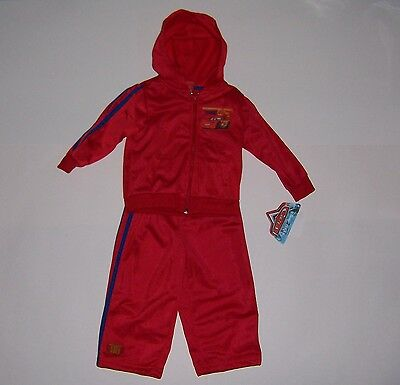 £9.45 • Buy Boy's Toddler Disney Cars Lightning Mcqueen  Hoodie Track Suit Size 24mo  Nwt!