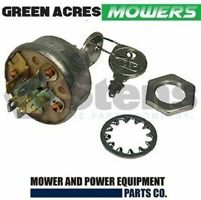 AU24.20 • Buy Ride On Mower Ignition Starter Switch Fits Selected Mtd Rover Murray John Deere