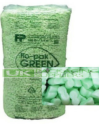 £150.12 • Buy 90 Cubic Feet Flopak Super 8 Polystyrene Void Loose Fill Packing Peanuts Offer