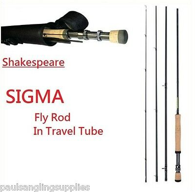 $ CDN91.02 • Buy Shakespeare Sigma Fly Fishing Rods & Cordura Case / Tube Carbon Fibre All Models
