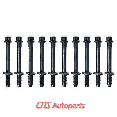 AU24.46 • Buy 4G63 4G63T 4G64 Engine Cylinder Head Bolts 2.0L 2.4L Mitsubishi Chrysler Dodge
