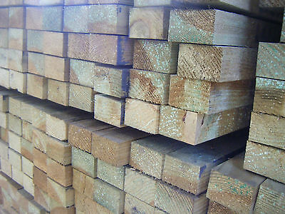 47mm X 75mm Treated Softwood Joists (3x2) Sold Per Length • 9.62£