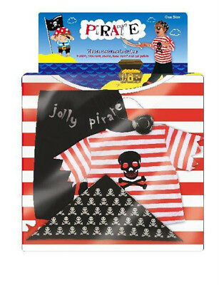 £7.99 • Buy Childrens Pirate Outfit - Ages 3-5