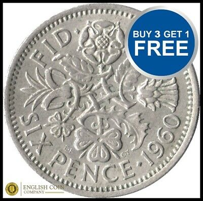Sixpence 99p Each Choose Your Date 1947-1967 FREE P&P All Dates BIRTHDAY COIN • 2.49£