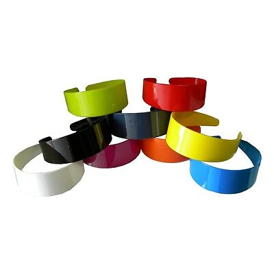 $6.99 • Buy Wide Hard Headbands Vibrant Colorful Girls 2 Inch Hair Band Accessories W/ Teeth