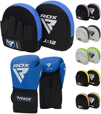 $ CDN52.49 • Buy RDX Kids Boxing Pads Training Gloves Junior Focus Mitts MMA Muay Thai Kickboxing