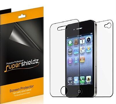 AU9 • Buy 6x Supershieldz Front + Back Full Body Screen Protector For Apple IPhone 4 / 4S