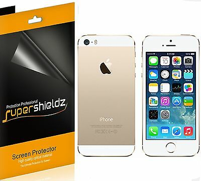 AU9 • Buy 6x Supershieldz Front + Back Clear Screen Protector For Apple IPhone 5S