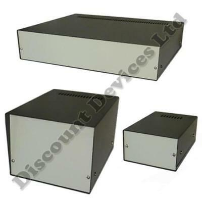 Aluminium Enclosure Project Desk Top Box For Electronic, High Quality! • 13.68£