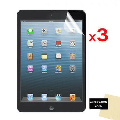 3 X CLEAR LCD Screen Protector Guards For Apple IPad Mini 2 With Retina Display • 2.95£