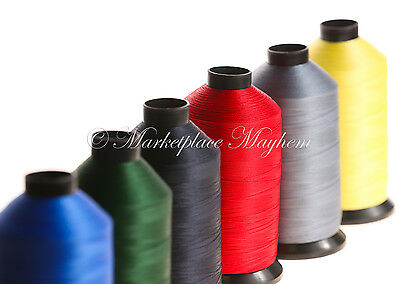 Strong Bonded Nylon - Sewing Thread -20/40/60s - Tex 138/70/45 - 500 Metre/4000m • 5.48£