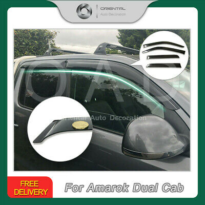 AU55.25 • Buy Premium Weathershields Weather Shields For Volkswagen Amarok Dual Cab 09+