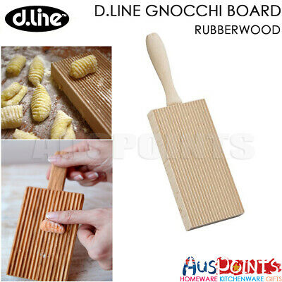 AU11.99 • Buy Appetito Gnocchi Board Rubberwood Rolling Pasta Maker