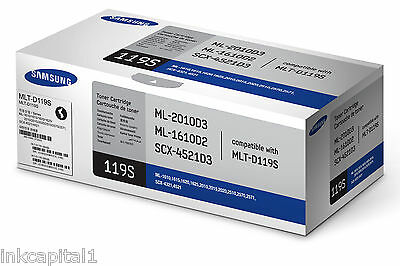 1 X Samsung MLT-D119S Black Original OEM Laser Toner Cartridge - 2000 Pages • 69.99£
