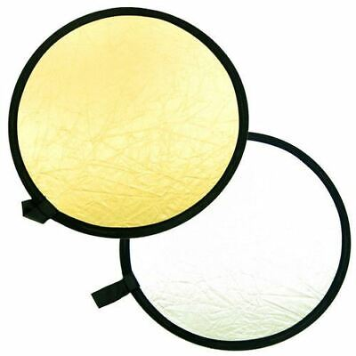 2 In 1 43 110cm Handheld Collapsible Photograph Studio Light Reflector Disc • 13.99£