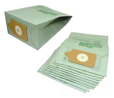 10 PACK - NUMATIC HENRY Hoover Vacuum Cleaner Double Layer Paper DUST BAGS • 4.99£