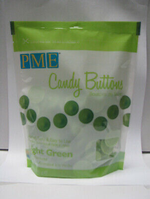 LIGHT GREEN Candy Buttons - Melts For Cake Pops Or Moulds 12oz (like Wilton) • 5.79£