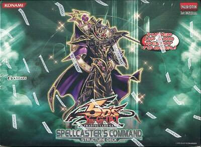AU175.70 • Buy Yugioh Spellcaster's Command Structure Deck Box Blowout Cards