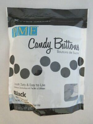 BLACK Candy Buttons - Melts For Cake Pops Or Moulds 12oz (like Wilton) • 5.79£