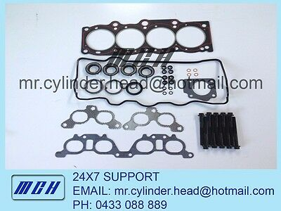 AU169.95 • Buy Toyota Camry Head Gasket Set + Head Bolt Kit 3SFE 5SFE 3SFC Holden Apollo