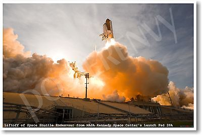 Liftoff Of Space Shuttle Endeavor - NEW Astronomy Poster • 7.23£