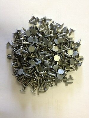 100 X Clout Nails Galvanised 13mm Nail Felt Shed Roof Repair • 4.99£