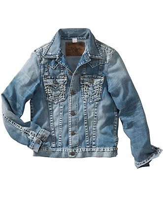 AU386.86 • Buy True Religion Jimmy Slim Fit Nouveau Super T Jacket Piston  M24R62GJ4