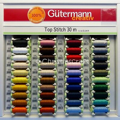 £2.79 • Buy Gutermann Top Stitch Thread - Strong For Sewing Decorative Stitches
