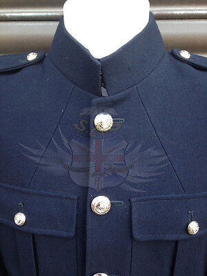 ROYAL MARINES SURPLUS No.1 BLUES UNIFORM DRESS TUNIC WITH BUTTONS-PARADE/NAVY • 54.99£