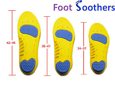 £5.99 • Buy Memory Foam Insoles For Comfort FootSoothers™ DualPro Orthotic Shoe Inserts