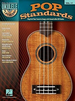 AU14.83 • Buy Pop Standards Sheet Music Ukulele Play-Along Book And CD NEW 000702836