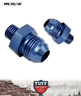 AU28.49 • Buy Proflow Fittings Suit Bosch 044 Fuel Pump AN -8 Inlet & Outlet -8AN Blue New