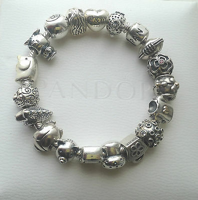 Genuine Authentic Pandora Discontinued Charm Collection Rare & Retired! • 38.99£