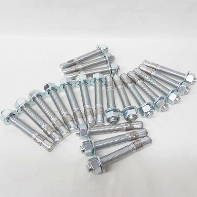 $ CDN75.03 • Buy Auto Lift Wedge Anchors 3/4  X 5-1/2  For 2 & 4 Post Lift Anchor Bolts Box Of 20