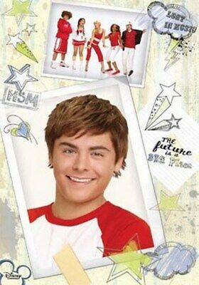HIGH SCHOOL MUSICAL 2 POSTER Zac Efron RARE NEW HSM - PRINT IMAGE PHOTO -G10 • 2.99£