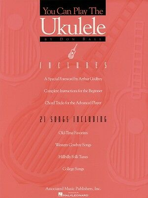 AU12.29 • Buy You Can Play The Ukulele - Method Book And Songs NEW 050236100