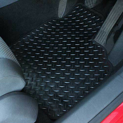 For Hyundai I40 Fully Tailored 4 Piece Rubber Car Mat Set 3 Ring Clips • 20.99£