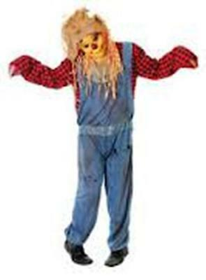 Fancy Dress Scarecrow Wizard Of Oz Halloween Costume All-in-one  • 34.99£