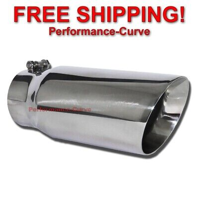 $ CDN63.03 • Buy Diesel Stainless Steel Exhaust Tip DW Angle Bolt On - 4  In - 5  Out JST538NS