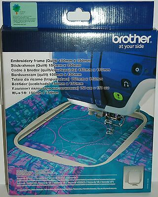 BROTHER  SEF150  Embroidery Machine Square Frame Hoop 15cm X 15cm  V3/V5/V7/Ie • 47.25£