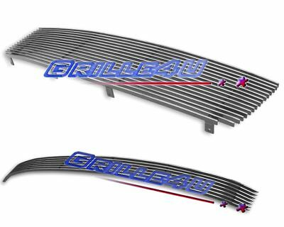 $75.99 • Buy Customized For 2004-2006 Nissan Maxima Billet Premium Grille Combo