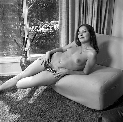 AU20.81 • Buy 8x10 Print Sexy Model Pin Up Brunette 1960's Nudes #5502408