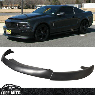 $149.88 • Buy CV Type 2 Style Black Front Bumper Lip For 05-09 Ford Mustang V8